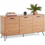 Дизайнерский шкаф для гостиной (730 х 1490 х 400 мм)